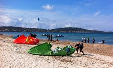 Week-end kitesurf INITIATION 3 jours en France à l'Almanarre